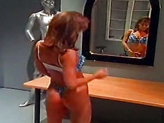 Leanna Heart, Big tit bikini bimbo sextsar Leanna bathroom fuck