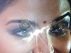 Aishwarya rai aunty actress dirty spit and cum tribute