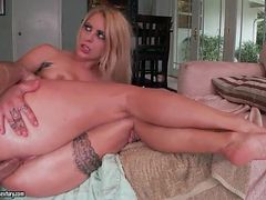 Beautiful big ass on a horny girl getting fucked