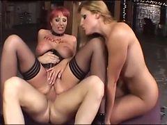 Best pornstars Kylie Ireland and Lauren Phoenix in crazy cumshots, threesomes xxx scene