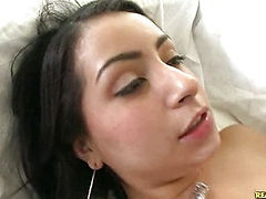 This latina with a big booty loves to ride the cock hard.
