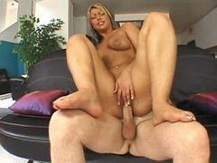 Incredible pornstar in amazing masturbation, rimming porn movie