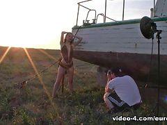Sophia Smith in Sophia BTS Boat Shoot - EuroBabesHd